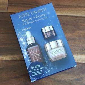 New Estee Lauder Repair + Renew skin care set